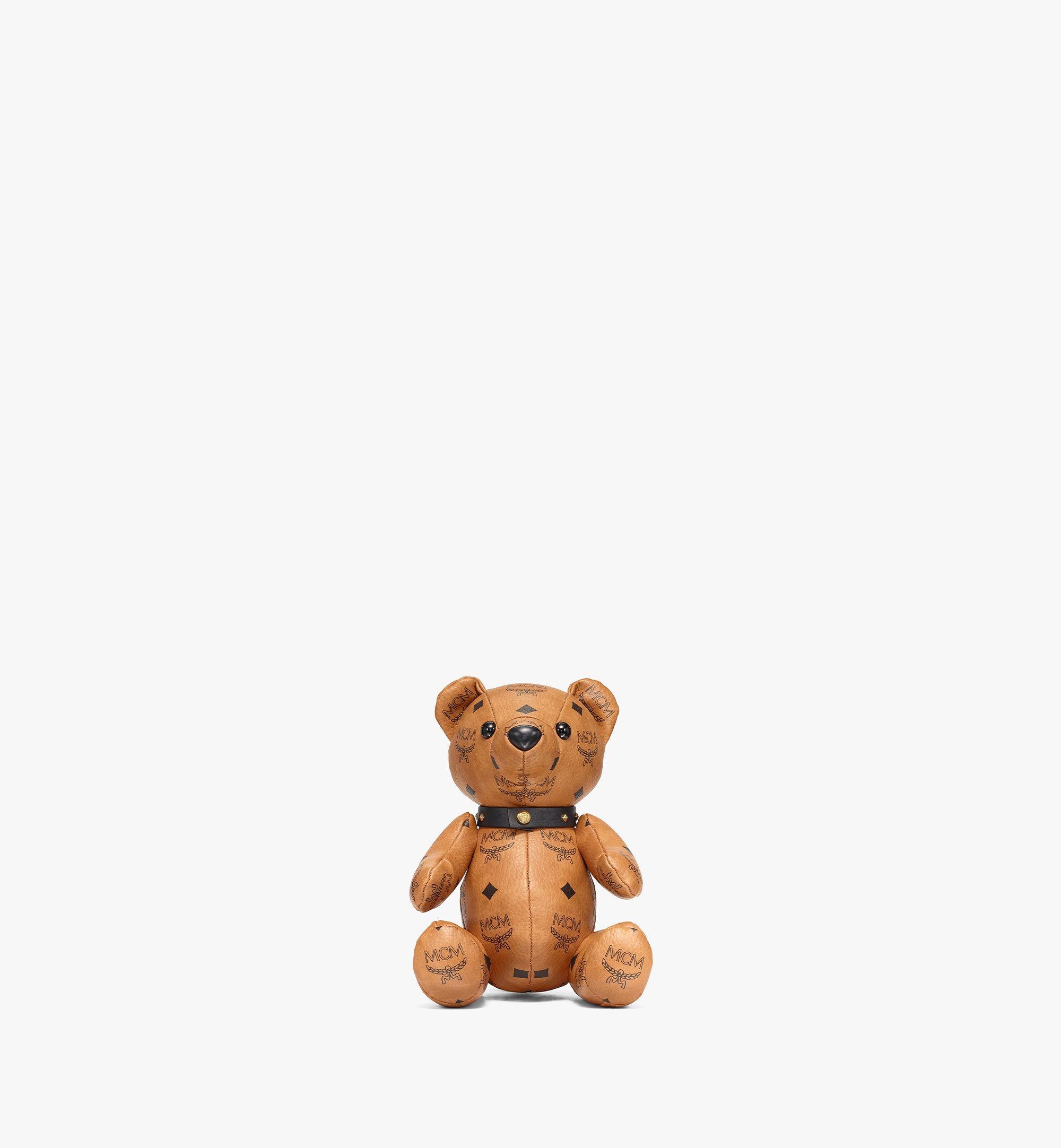 MCM Visetos 系列小熊玩偶 Cognac MELBSVD08CO001 更多視圖 1
