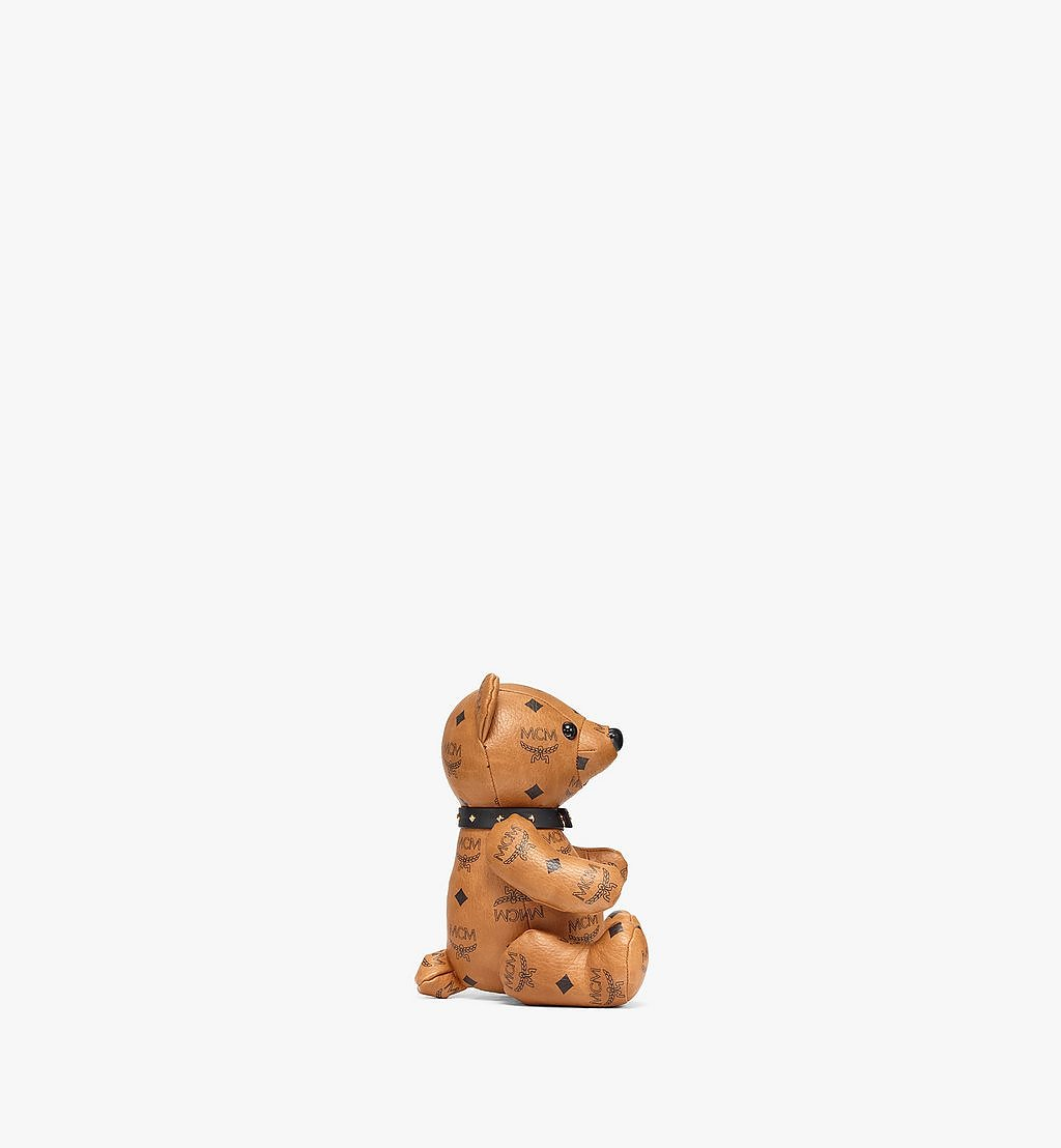 MCM Bear Doll in Visetos Cognac MELBSVD08CO001 Alternate View 1