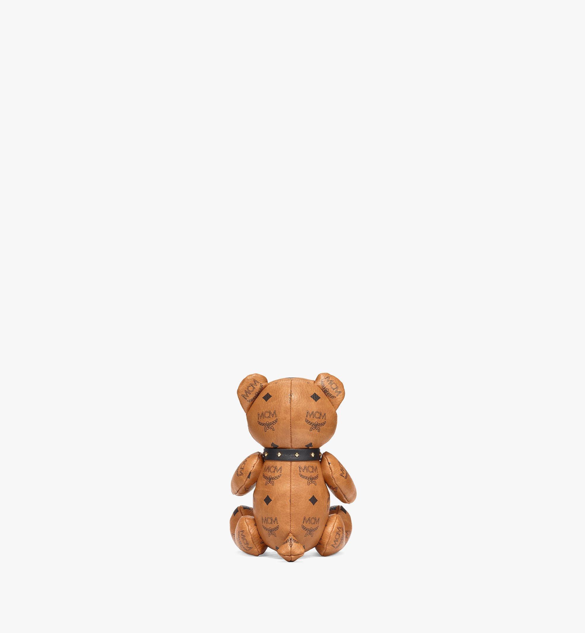 MCM Visetos 系列小熊玩偶 Cognac MELBSVD08CO001 更多視圖 2