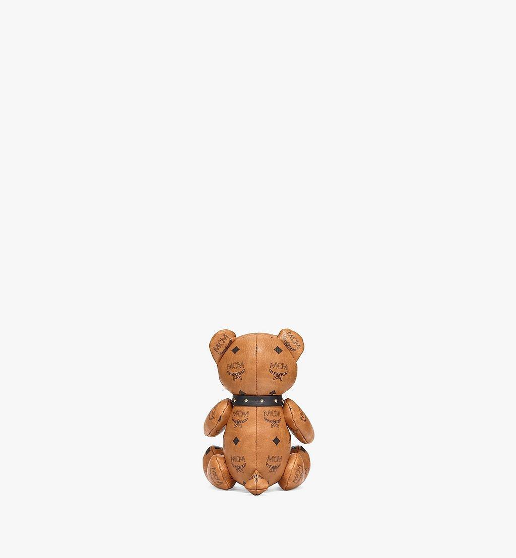 MCM Bear Doll in Visetos Cognac MELBSVD08CO001 Alternate View 2