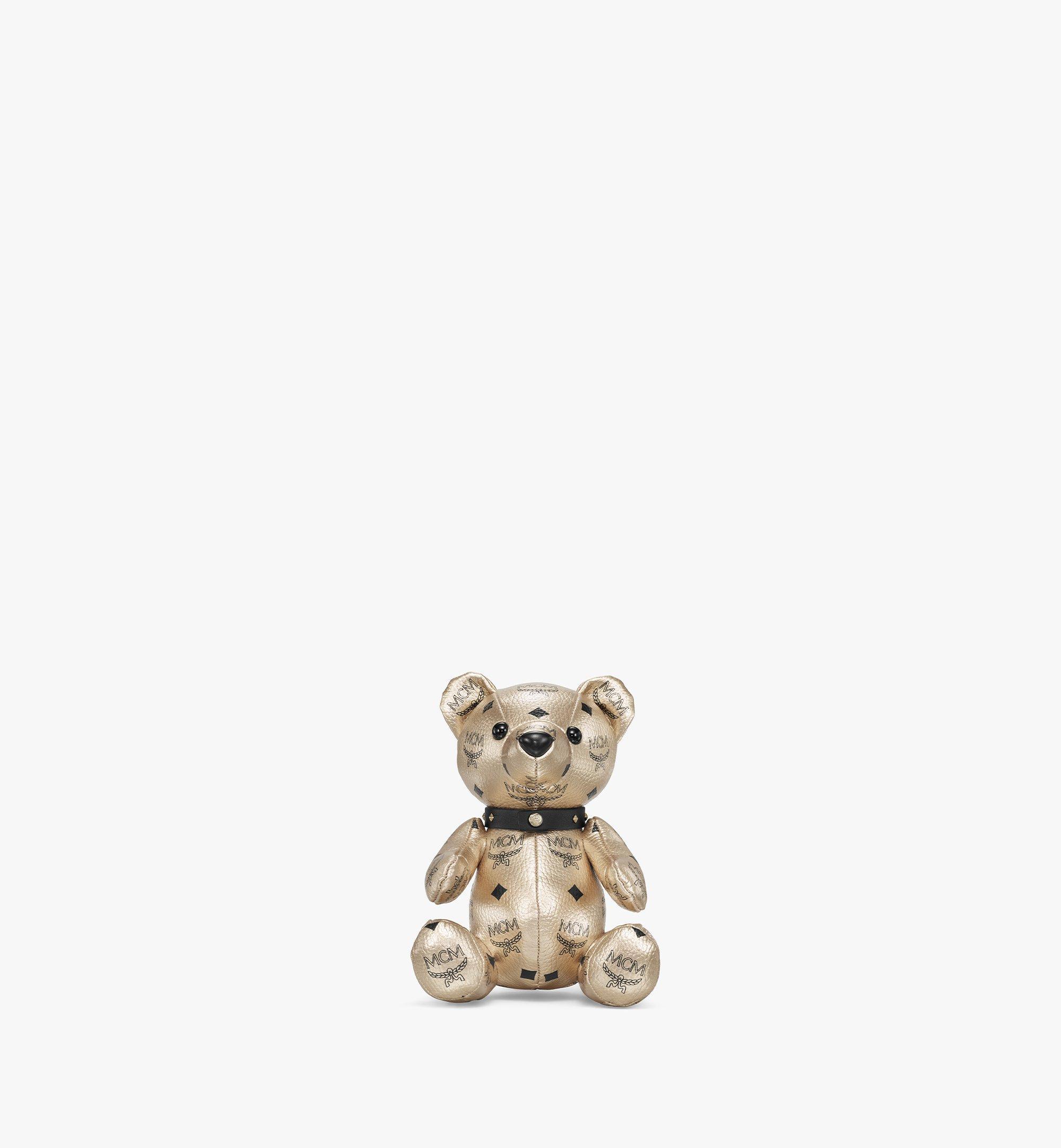 MCM Visetos 系列小熊玩偶 Gold MELBSVD08T1001 更多視圖 1