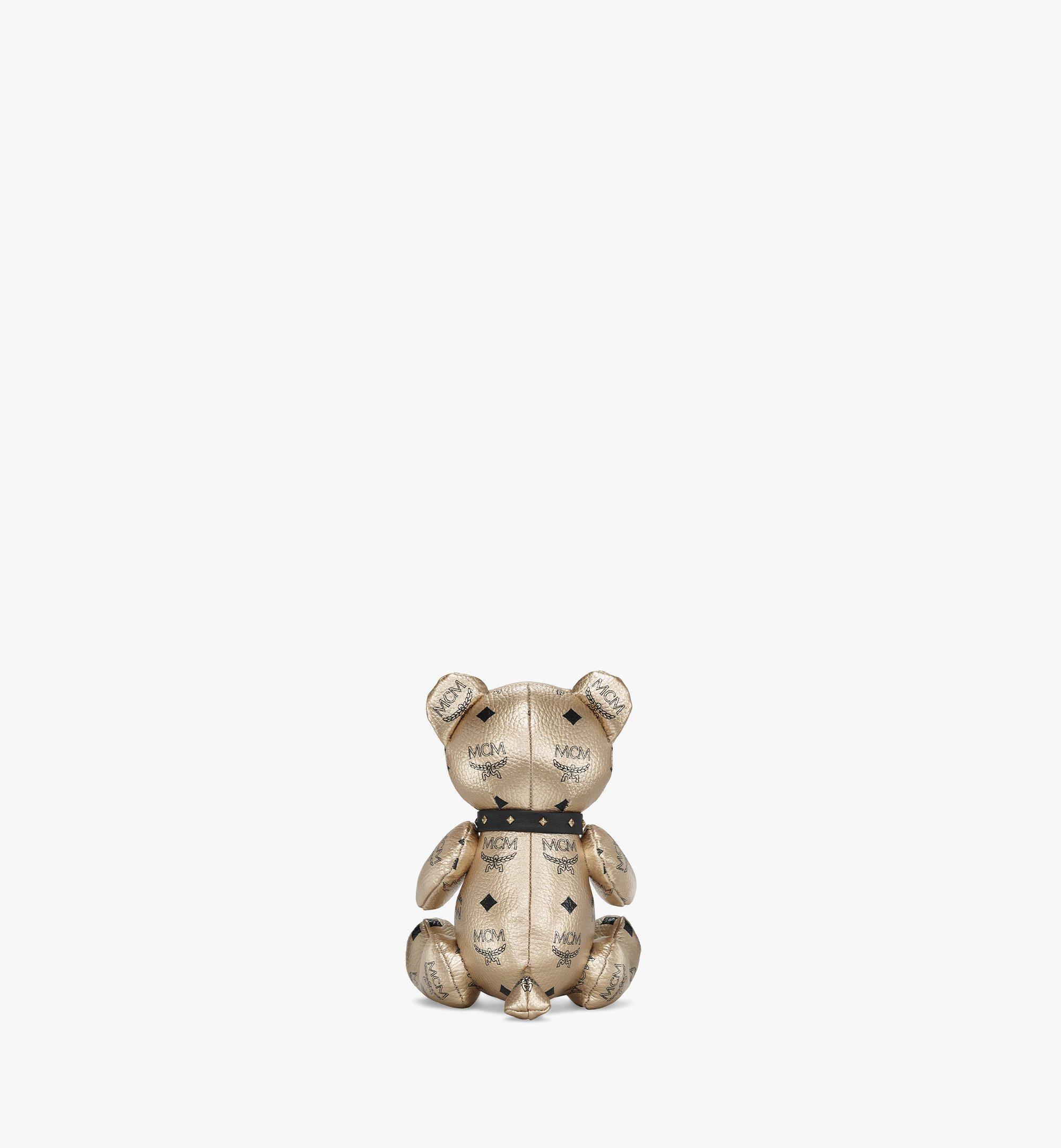 MCM Visetos 系列小熊玩偶 Gold MELBSVD08T1001 更多視圖 2