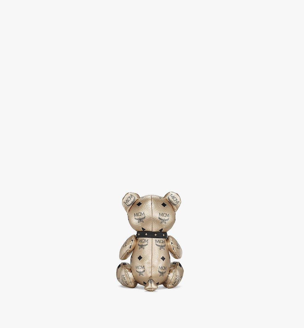 MCM Bear Doll in Visetos Gold MELBSVD08T1001 Alternate View 2