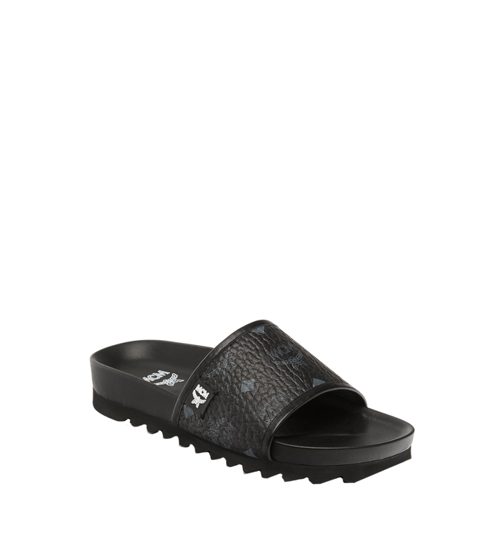 MCM Women's Visetos Slides Alternate View