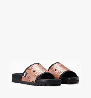 MCM Women's Visetos Slides MES8A2K55TC036 AlternateView