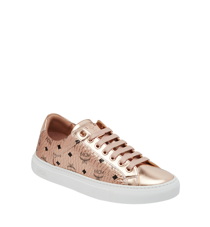 MCM Women's Low Top Sneakers in Visetos Alternate View