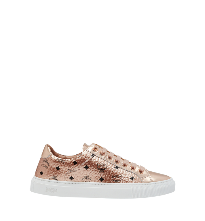 MCM Women's Low Top Sneakers in Visetos Alternate View 2