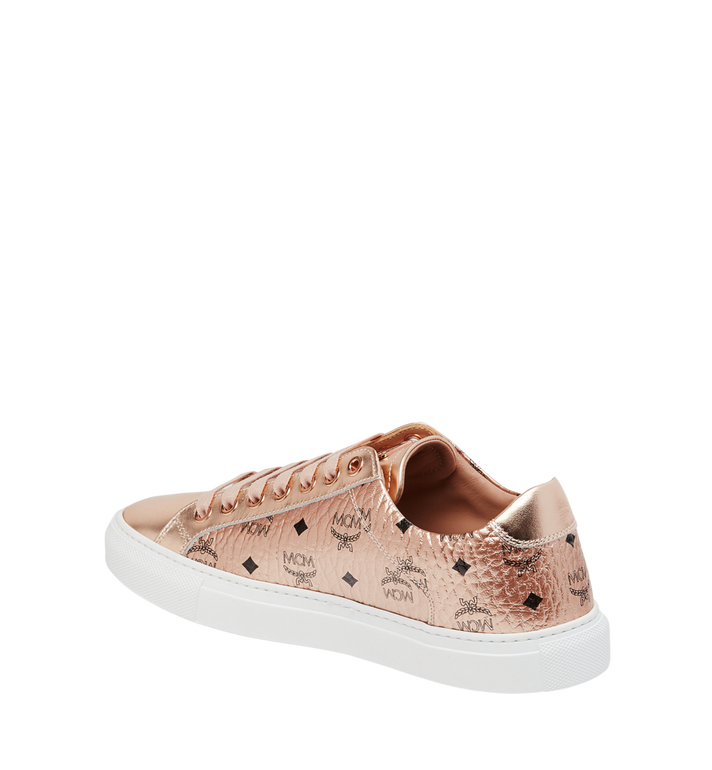 MCM Women's Low Top Sneakers in Visetos Alternate View 3
