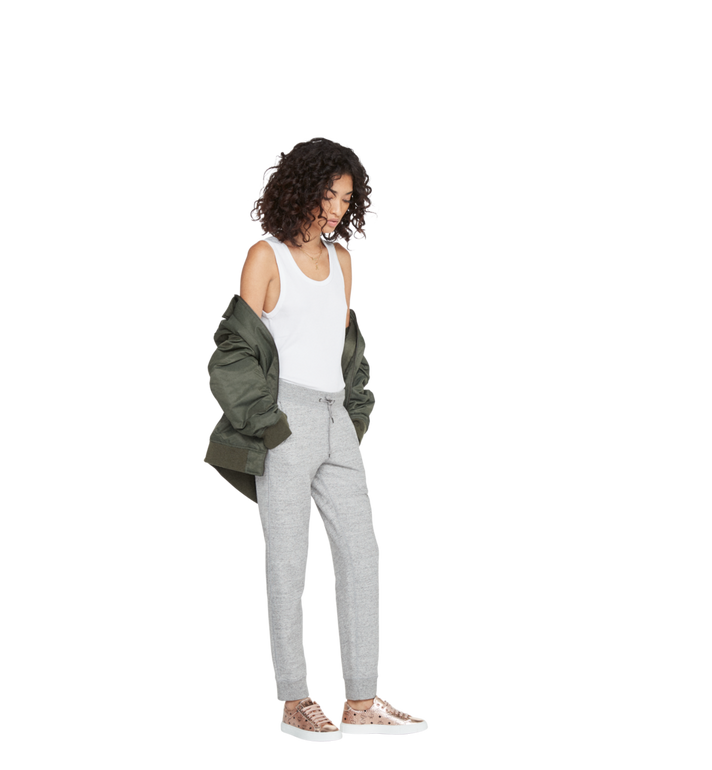 MCM Women's Low Top Sneakers in Visetos MES8AMM00TC036 AlternateView6