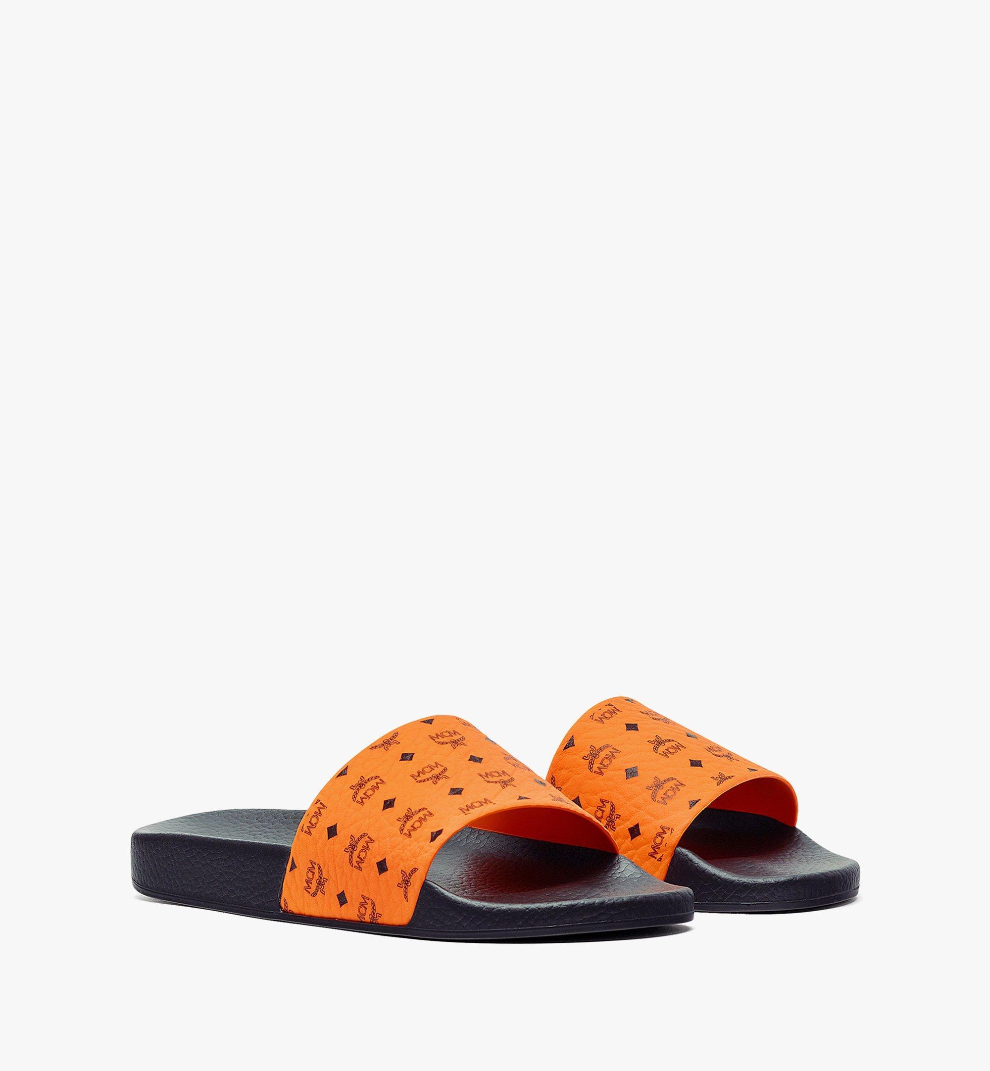 MCM Slides in Visetos für Damen Orange MES8AMM60O9036 Noch mehr sehen 1