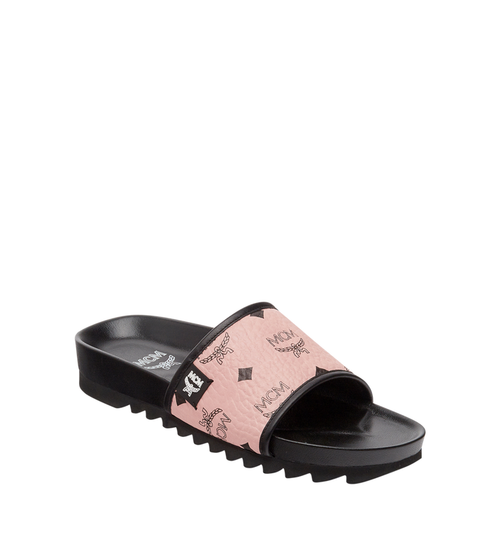 MCM Women's Slides in Visetos Alternate View 1