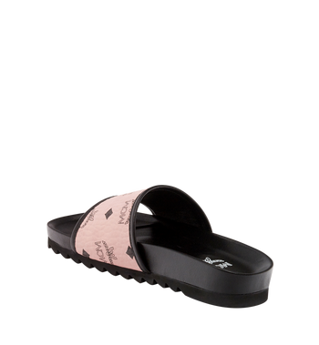 MCM Women's Slides in Visetos Alternate View 2