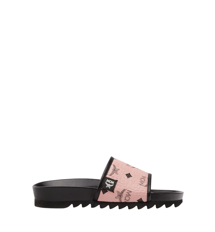 MCM Women's Slides in Visetos Alternate View 3