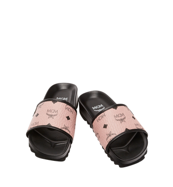 MCM Women's Slides in Visetos Alternate View 4