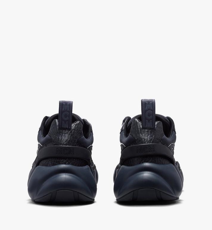 MCM Women's Low-Top Himmel Sneaker in Visetos Black MES9ANX05BK038 Alternate View 3