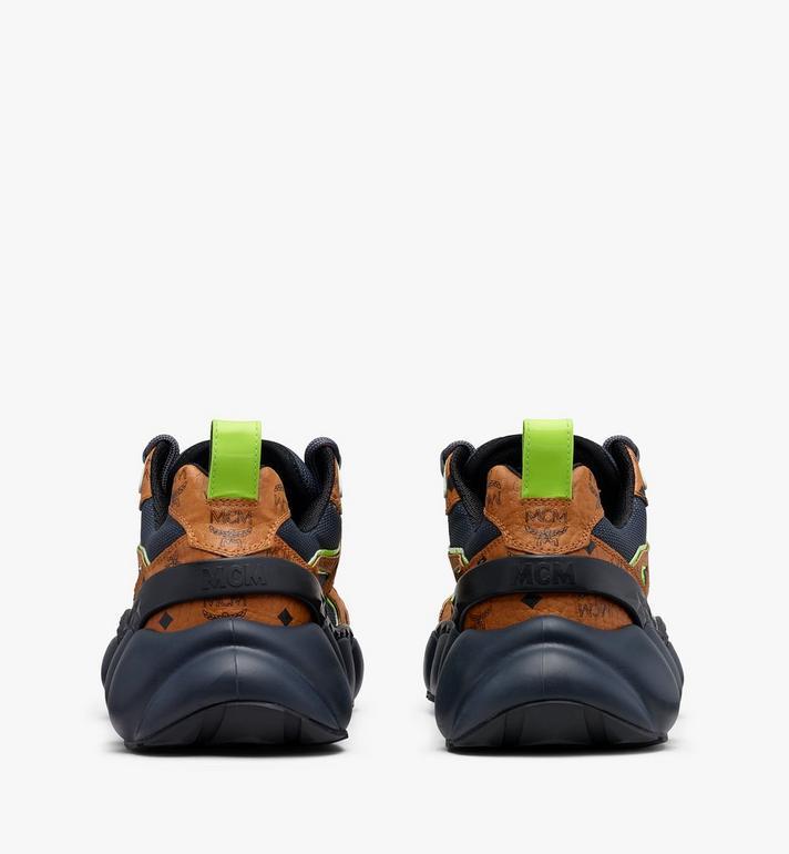 MCM Women's Low-Top Himmel Sneaker in Visetos  MES9ANX05CO038 Alternate View 3