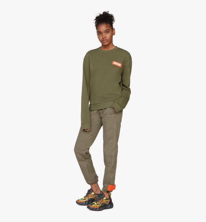 MCM Women's Low-Top Himmel Sneaker in Visetos  MES9ANX05CO038 Alternate View 6