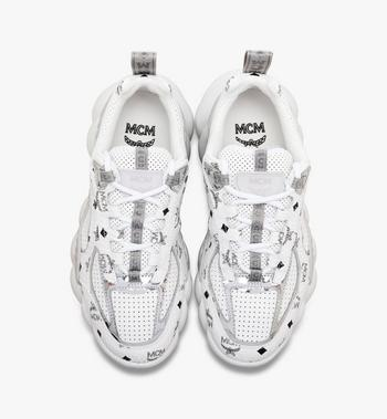 MCM Women's Low-Top Himmel Sneaker in Visetos Alternate View 4