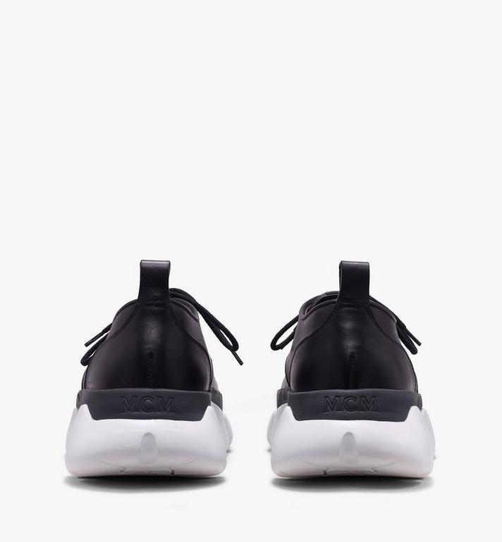 MCM Women's Resnick Dress Sneaker in Calfskin Leather Black MES9ARA72BK039 Alternate View 3