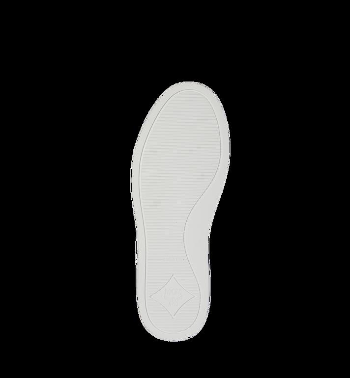 MCM 로고 콤비 레더 스니커즈 White MES9S2I03WT036 Alternate View 5