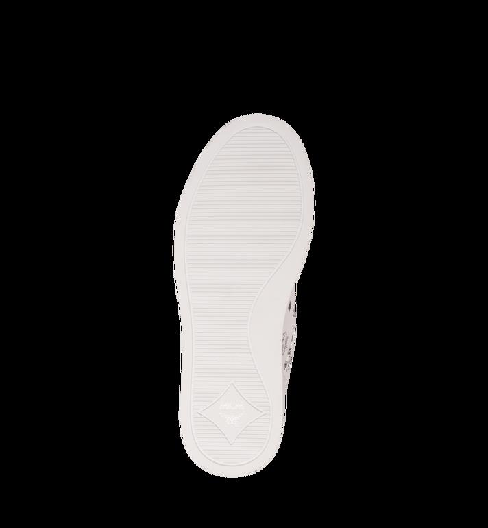 MCM Women's Low-Top Sneakers in Visetos White MES9SMM03WT038 Alternate View 5