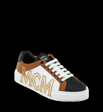 MCM Low Top Damen Sneakers aus Leder Alternate View