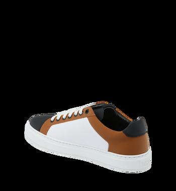 MCM Low Top Damen Sneakers aus Leder Cognac MES9SMM16CO039 Alternate View 3