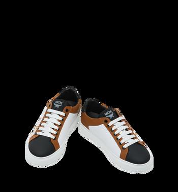 MCM Low Top Damen Sneakers aus Leder Cognac MES9SMM16CO039 Alternate View 4