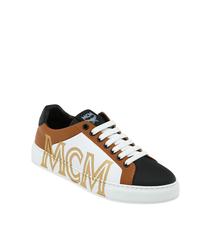 MCM Women's Low Top Sneakers in Leather Alternate View