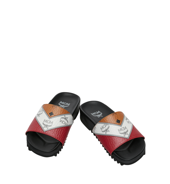 MCM Women's Slides in M Move Visetos MES9SMM28CO036 AlternateView4