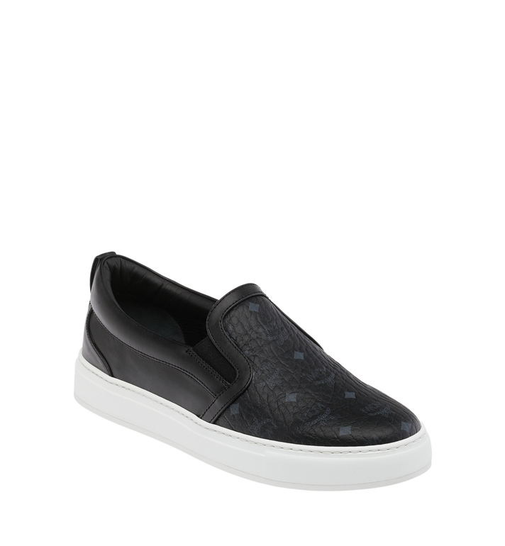 MCM Men's Visetos Slip On Sneakers Alternate View