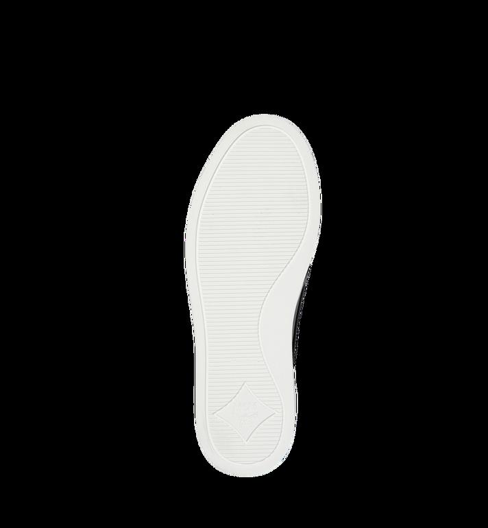 MCM Men's Visetos Slip On Sneakers Black MES9SMM40BK040 Alternate View 5