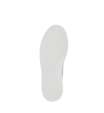 MCM Men's Visetos Slip On Sneakers White MES9SMM40WT037 Alternate View 5