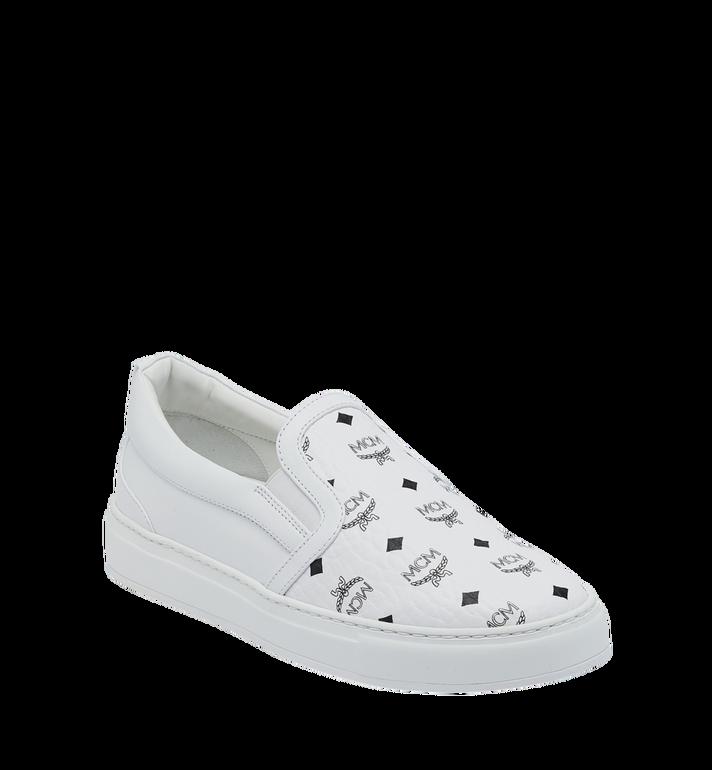 MCM Men's Visetos Slip On Sneakers Alternate View