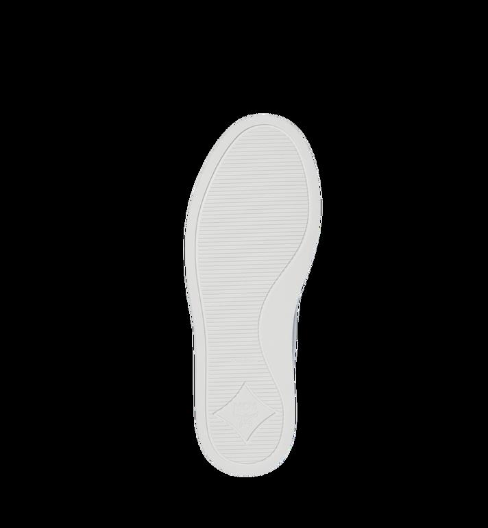 MCM Men's Visetos Slip On Sneakers White MES9SMM40WT038 Alternate View 5