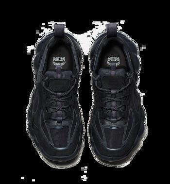 MCM Women's Himmel Low Top Sneakers in Suede Alternate View 4