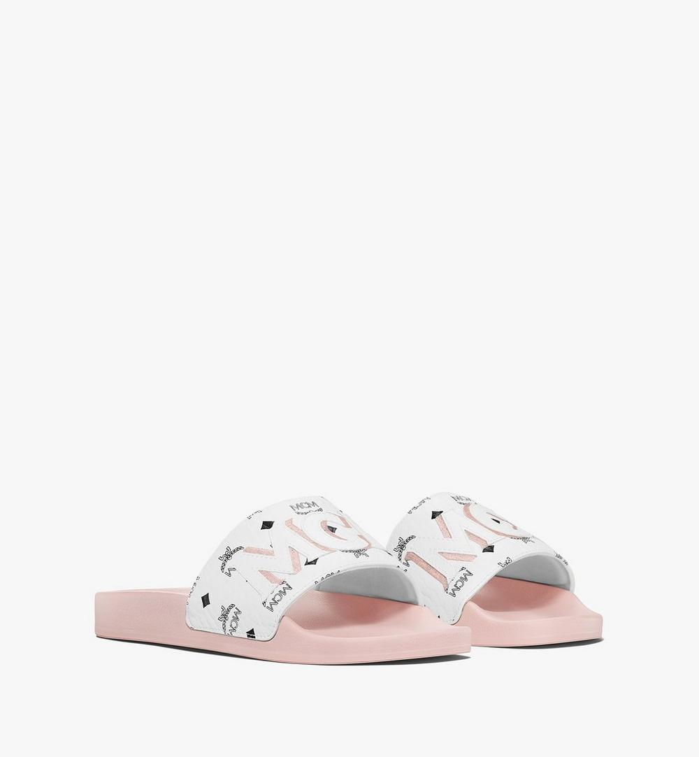 Women's Visetos Patch Slides 1