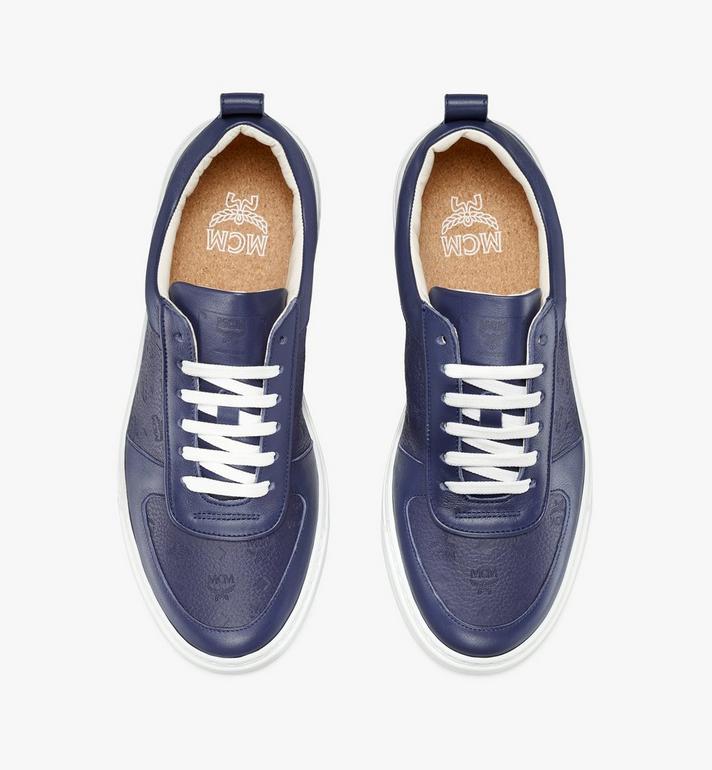 MCM Terrain Lo Sneaker für Damen Navy MESAAMM18VA037 Alternate View 5
