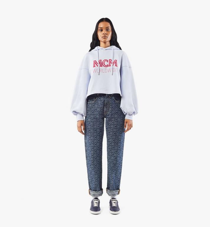MCM Terrain Lo Sneaker für Damen Navy MESAAMM18VA037 Alternate View 6