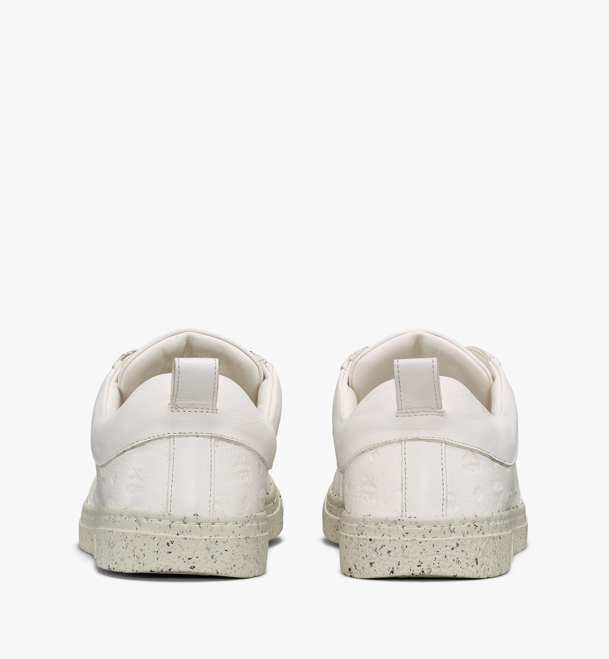 MCM Women's Sustainable Terrain Lo Sneakers White MESAAMM18WT036 Alternate View 3