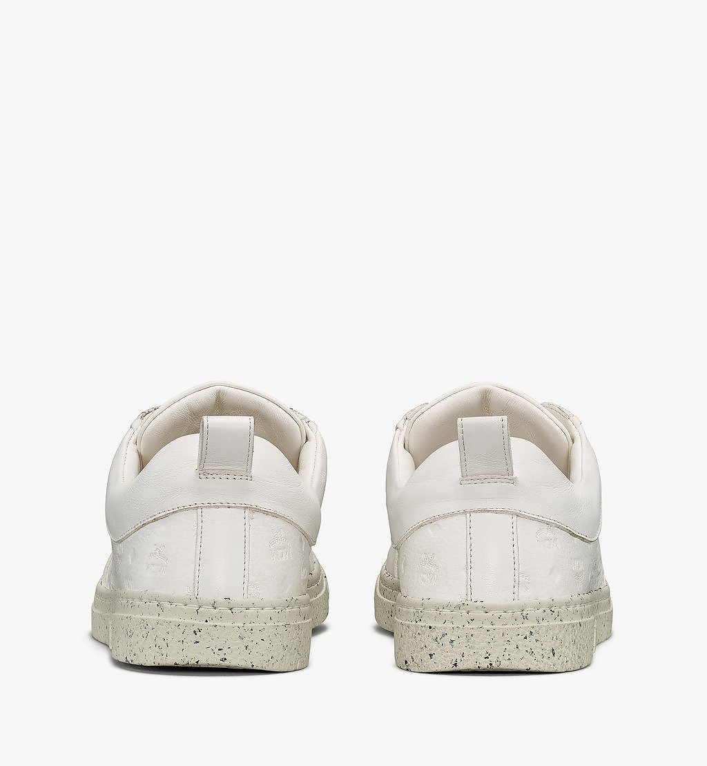 MCM Women's Sustainable Terrain Lo Sneakers White MESAAMM18WT036 Alternate View 2