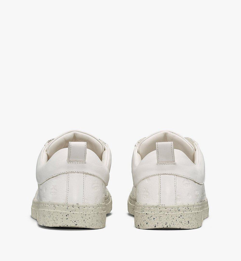 MCM Women's Sustainable Terrain Lo Sneakers White MESAAMM18WT039 Alternate View 2