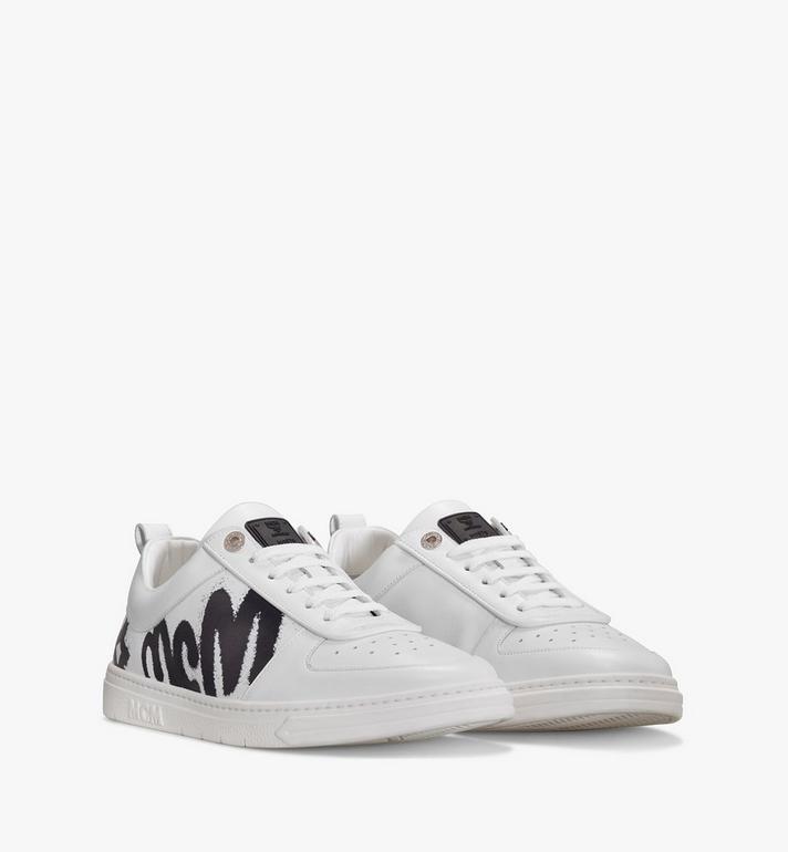 MCM Terrain Lo Sneaker mit grossem Logo für Frauen Alternate View