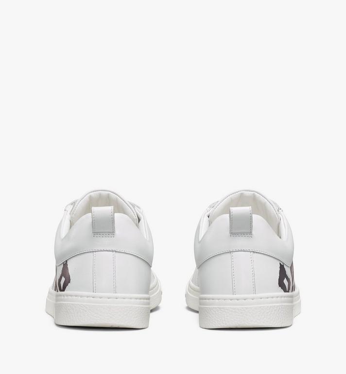 MCM Terrain Lo Sneaker mit grossem Logo für Frauen Pink MESAAMM23WT039 Alternate View 3