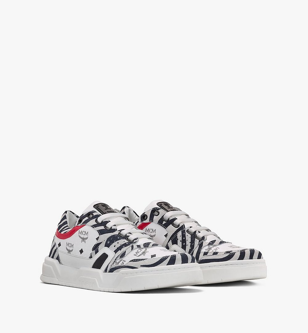 MCM Women's Skyward Low-Top Sneakers  MESASMM41WT035 Alternate View 1