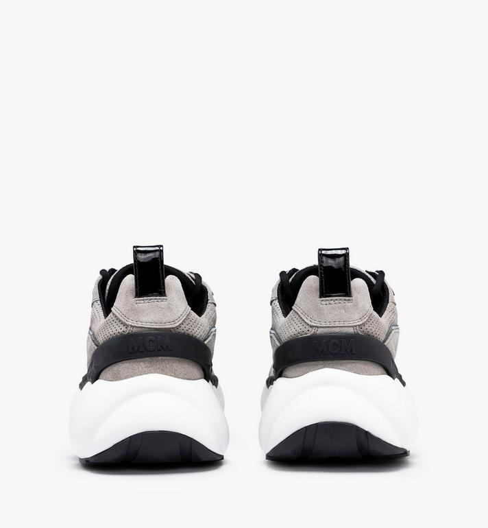 MCM Women's Himmel Low-Top Sneakers Grey MESASNX03FJ037 Alternate View 3