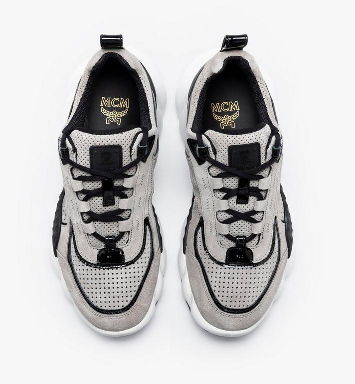 MCM Women's Himmel Low-Top Sneakers Grey MESASNX03FJ037 Alternate View 5