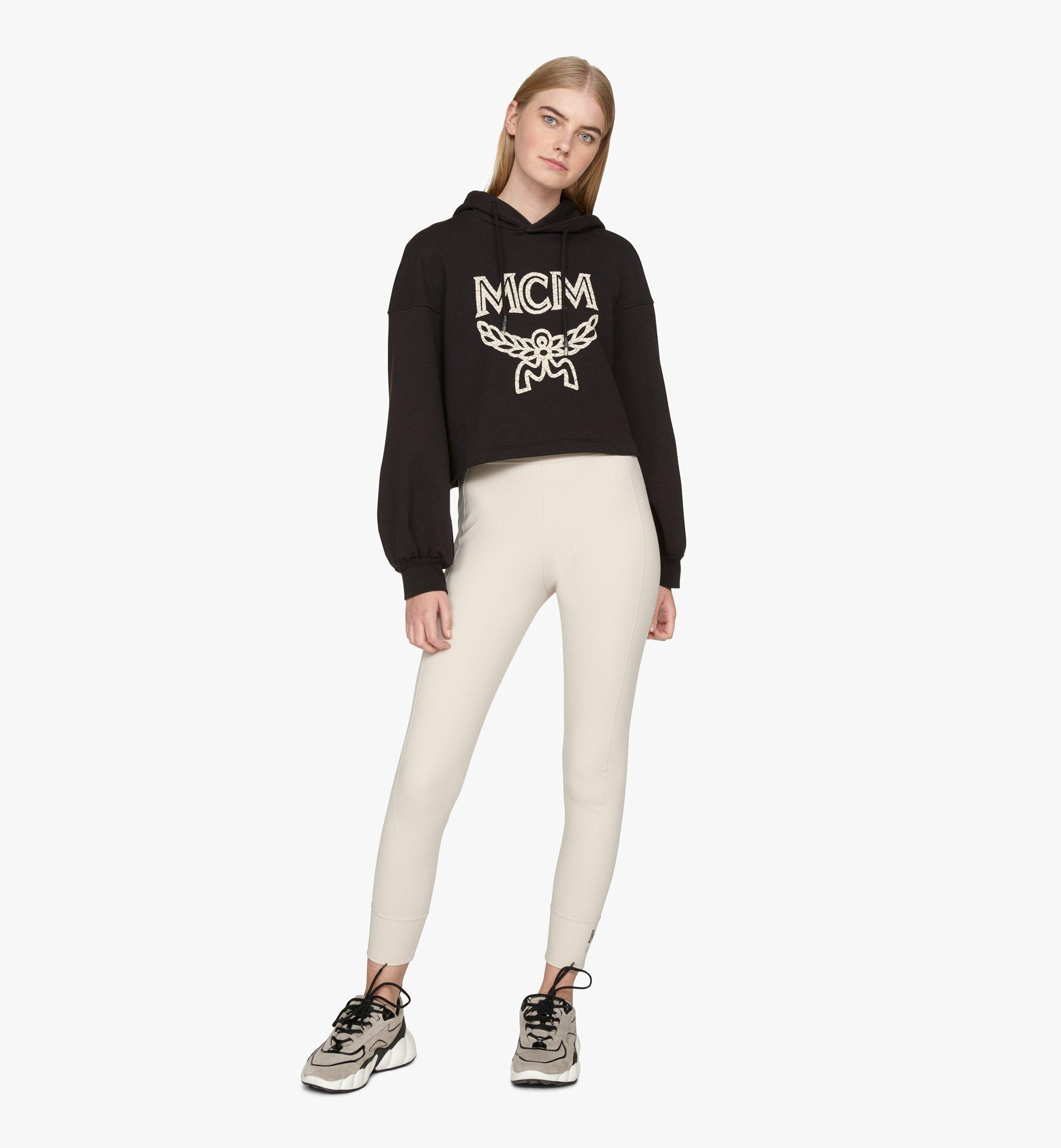 MCM Women's Himmel Low-Top Sneakers Grey MESASNX03FJ039 Alternate View 6