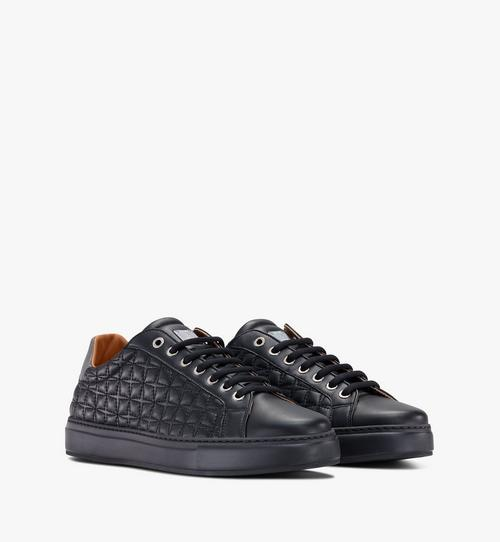Women's Classic Low-Top Sneakers in Quilted Leather