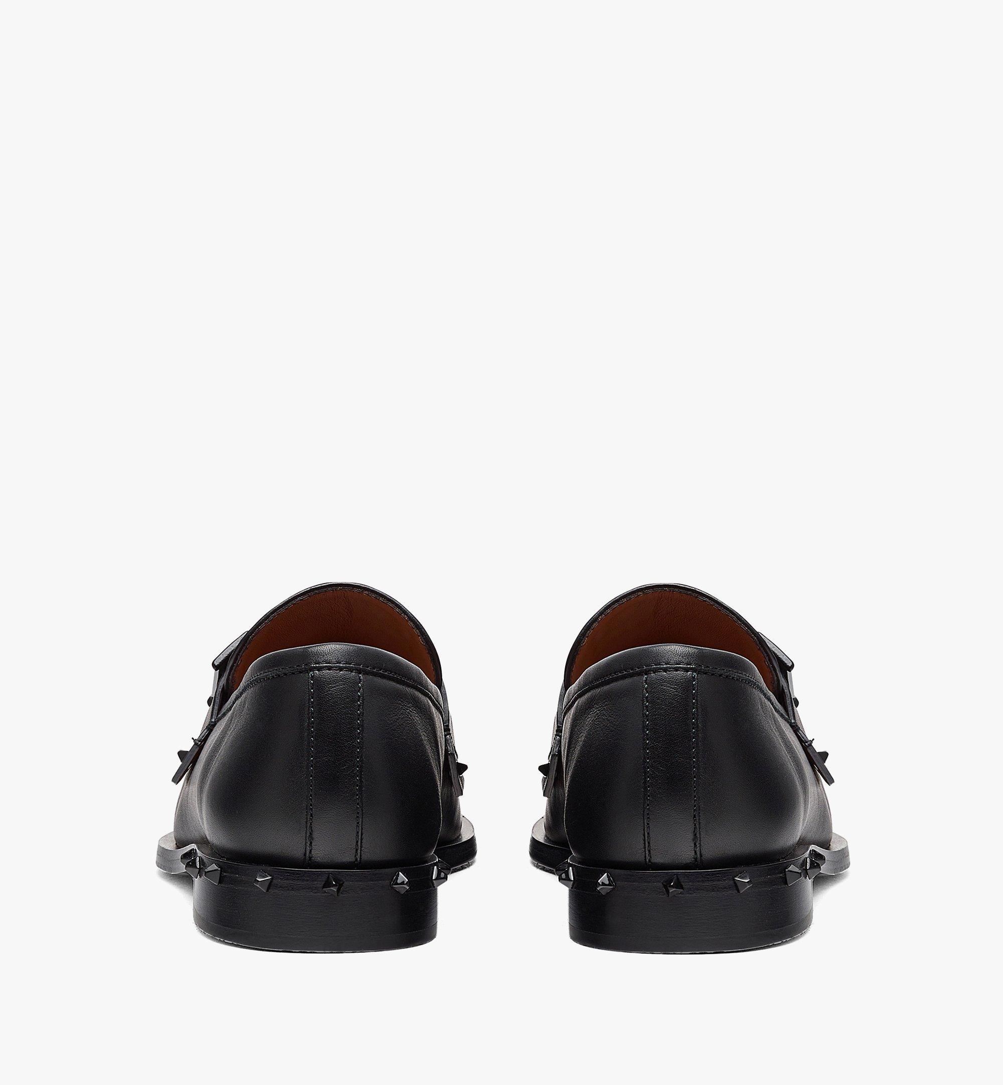 MCM Women's Mena Loafer in Calf Leather Black MESBALM01BK038 Alternate View 3